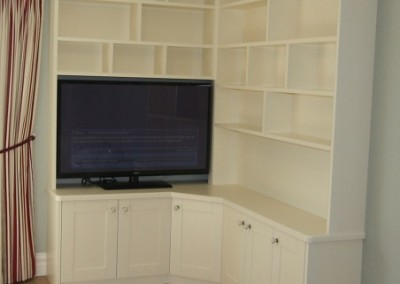 Bespoke Bookcase And TV Unit