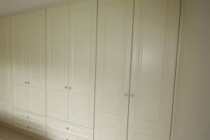 Cream Door Fitted Wardrobe
