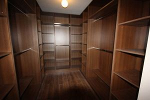 Walk In Wardrobe Walnut